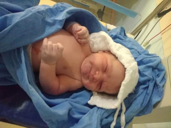 Bryan - Bebê que veio ao mundo com ajuda de policiais