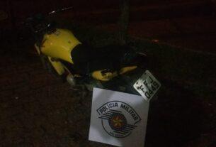 Moto roubada na Vila da Prata - Mogi das Cruzes SP