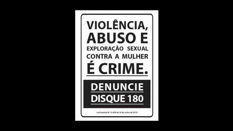 Disk Denúncia 180 - Contra a violência à mulher