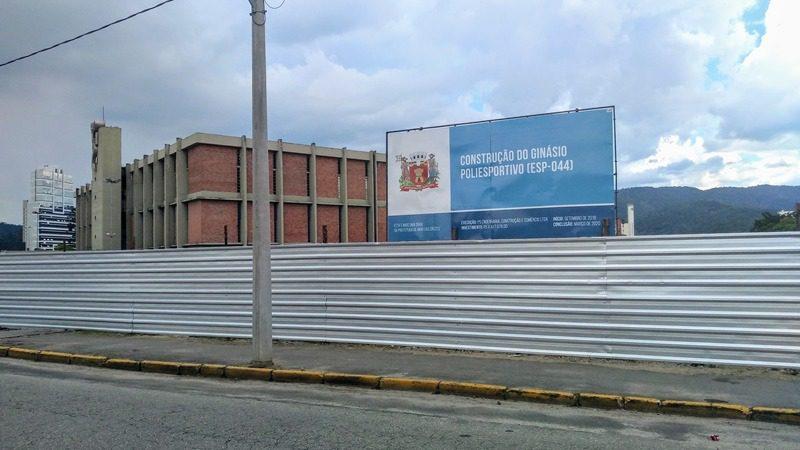 Novo Ginásio Poliesportivo de Mogi das Cruzes