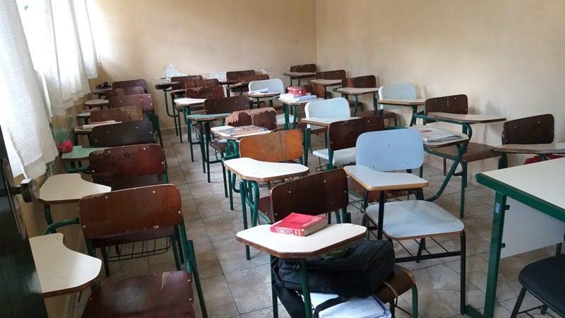 Sala de aula - Escola Raul Brasil - Suzano