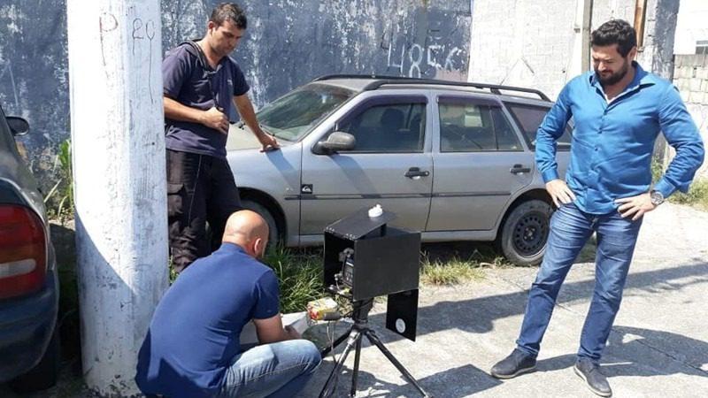 Vereador Diegão fiscaliza retirada de radar em Mogi