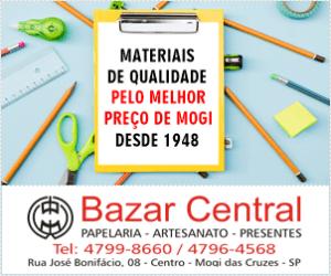 Banner Bazar Central - Mogi das Cruzes