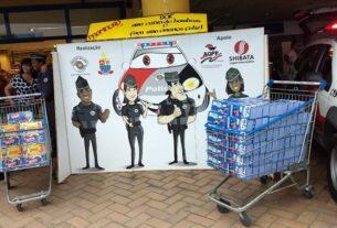 Caixas de bombom - PM/SP Mogi das Cruzes - Páscoa Solidária