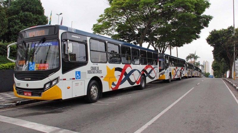 Ônibus em Mogi das Cruzes