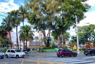 Praça Oswaldo Cruz - Mogi das Cruzes