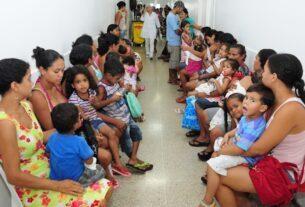 Superlotação em pediatria