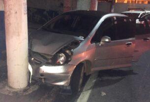 Veículo roubado em Mogi das Cruzes