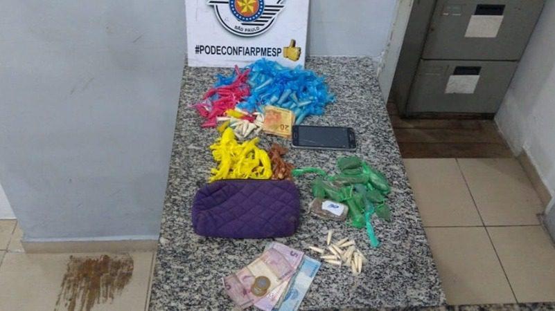 Drogas apreendidas na Vila Pomar - Mogi das Cruzes