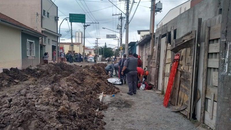 Funcionário do Semae morre soterrado