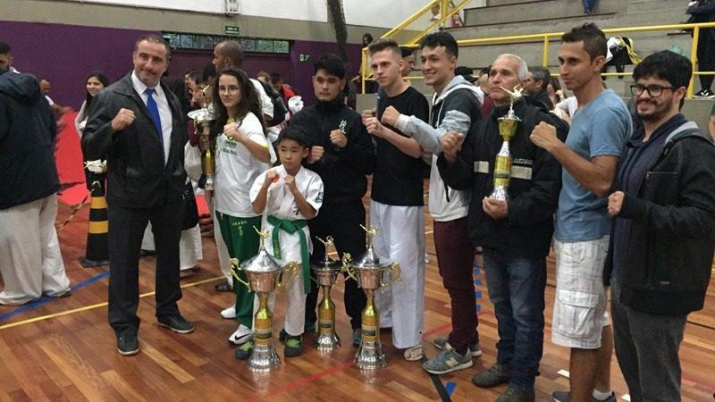 Mogianos no campeonato brasileiro de Karatê Kyokushin
