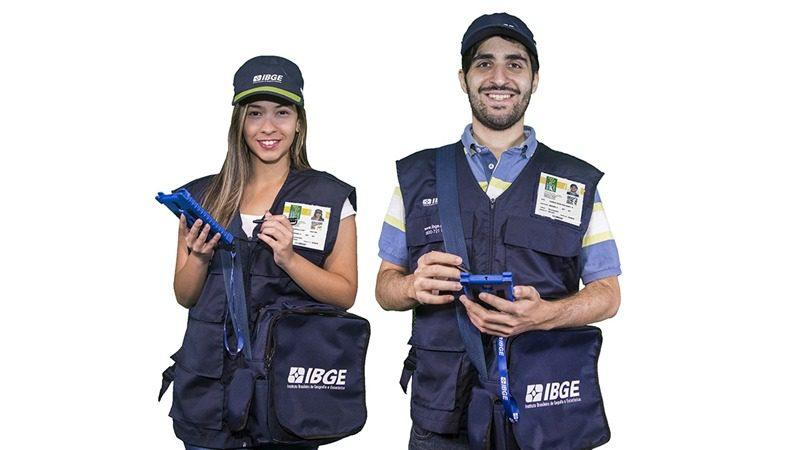 Recenseadores do IBGE