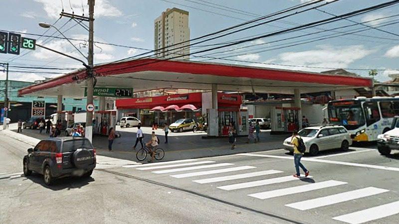 Posto de gasolina em Mogi das Cruzes