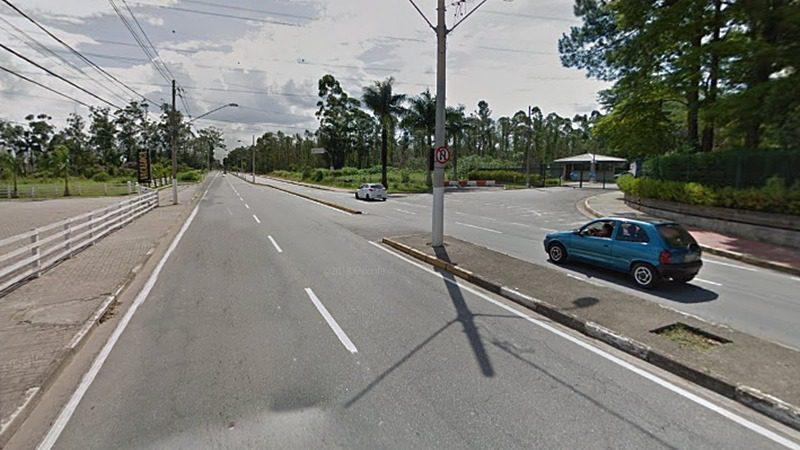 Retorno - Avenida Francisco Rodrigues Filho