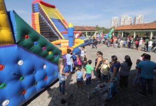 Brincando nas Férias - Parque Centenário - Mogi das Cruzes