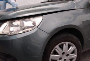 Carro roubado em Mogi das Cruzes