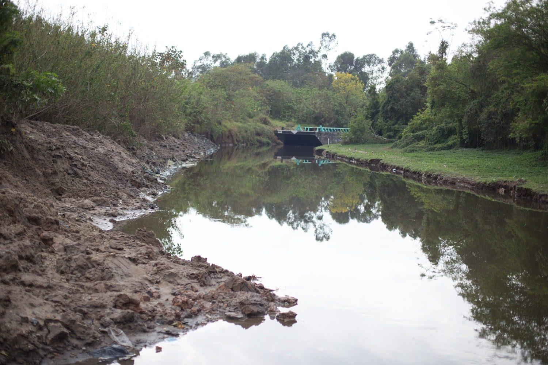 Rio Tietê em Mogi das Cruzes