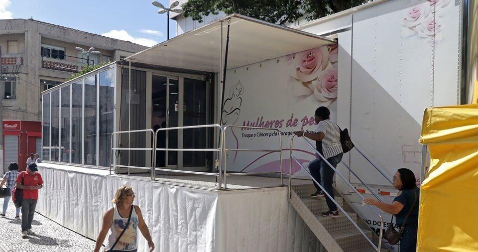 Carreta da Mamografia em Mogi das Cruzes