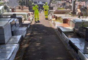 Cemitério em Mogi das Cruzes