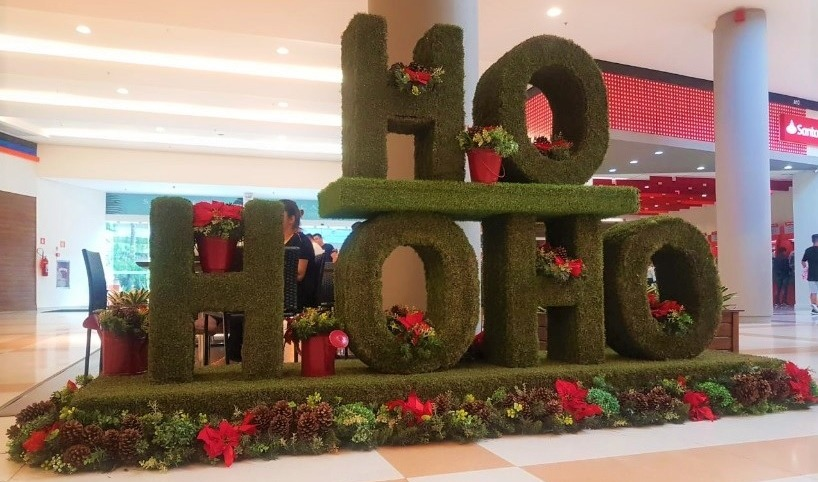 Decoração de Natal do Mogi Shopping 2019