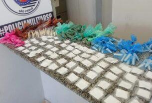 Drogas apreendidas em Jundiapeba - Mogi das Cruzes