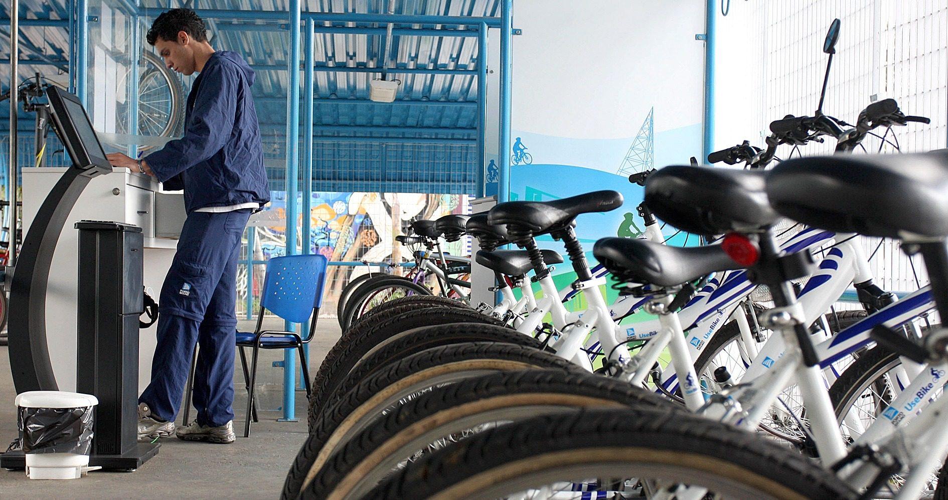 Locação de bicicletas