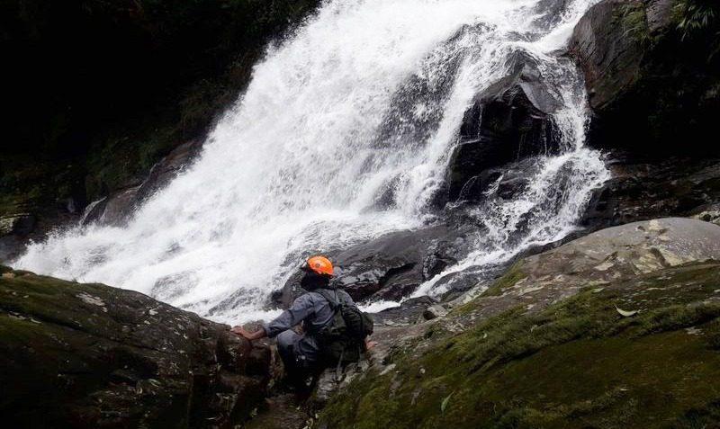Buscas na cachoeira Véu da Noiva - Mogi-Bertioga