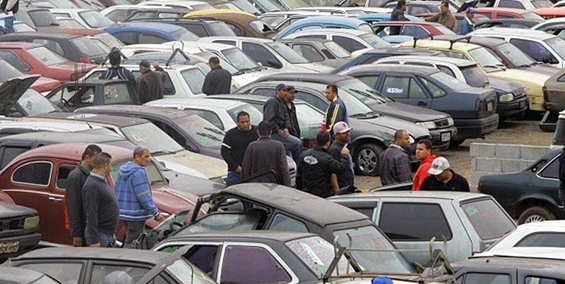 Leilão de automóveis em Suzano