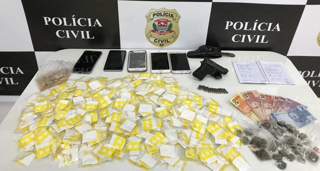 Drogas - Polícia Civil