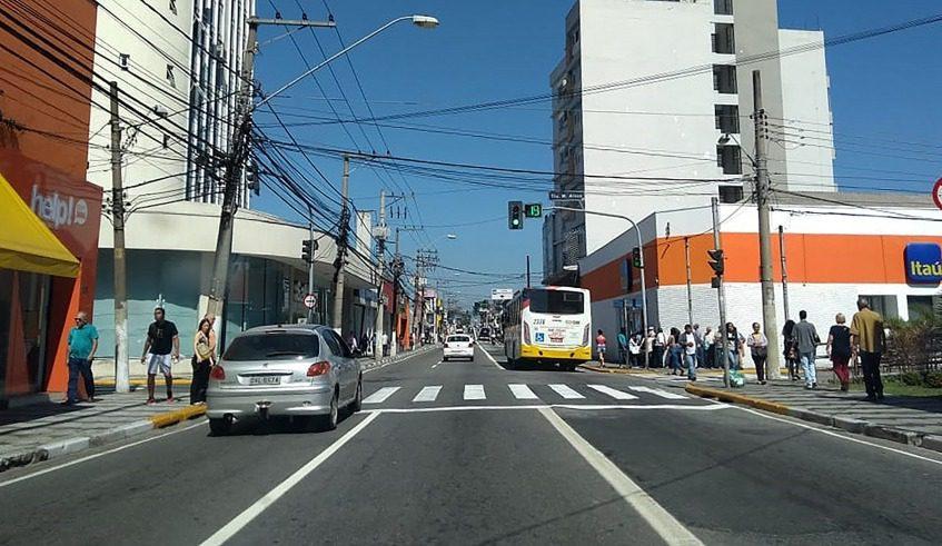 Trânsito em Mogi das Cruzes