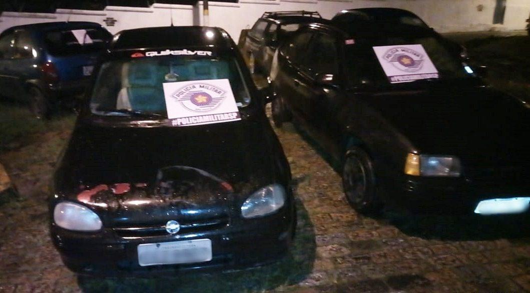 Carros furtados em Mogi