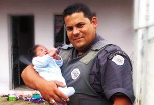 PM salva bebê engasgado em Mogi