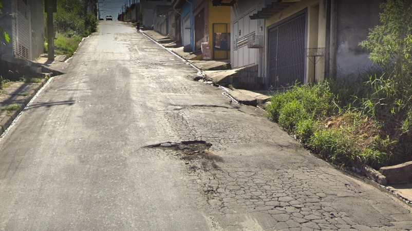 Rua Santa Cruz do André - Botujuru