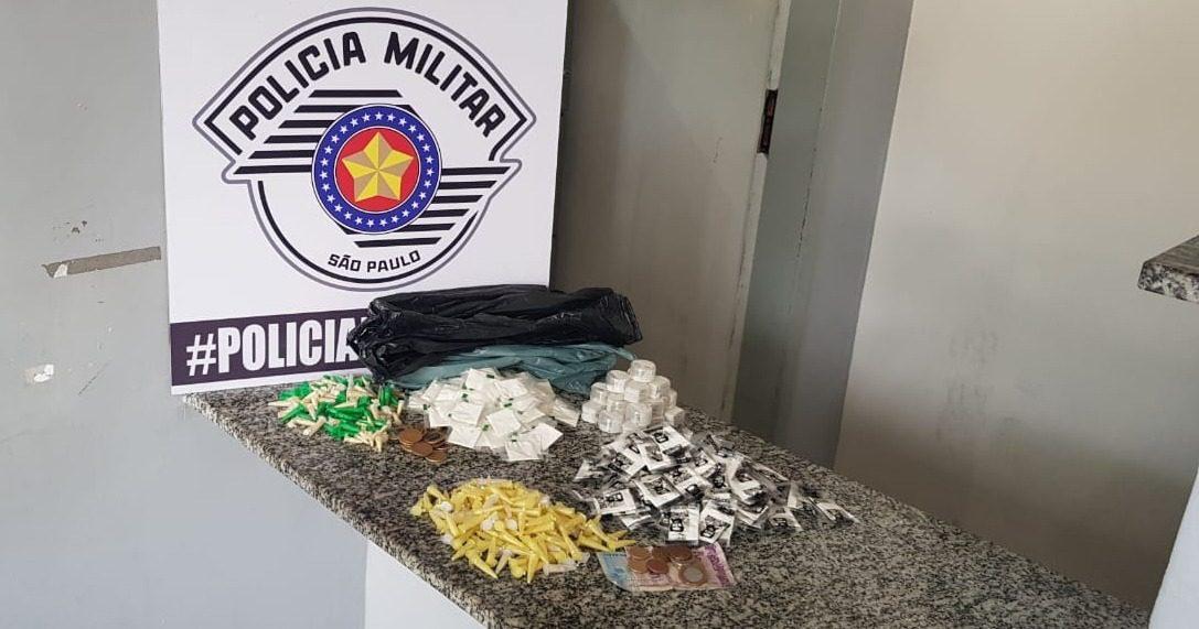 Drogas apreendidas em Jundiapeba