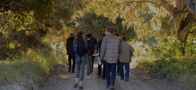 Hiking at Walden Monterey