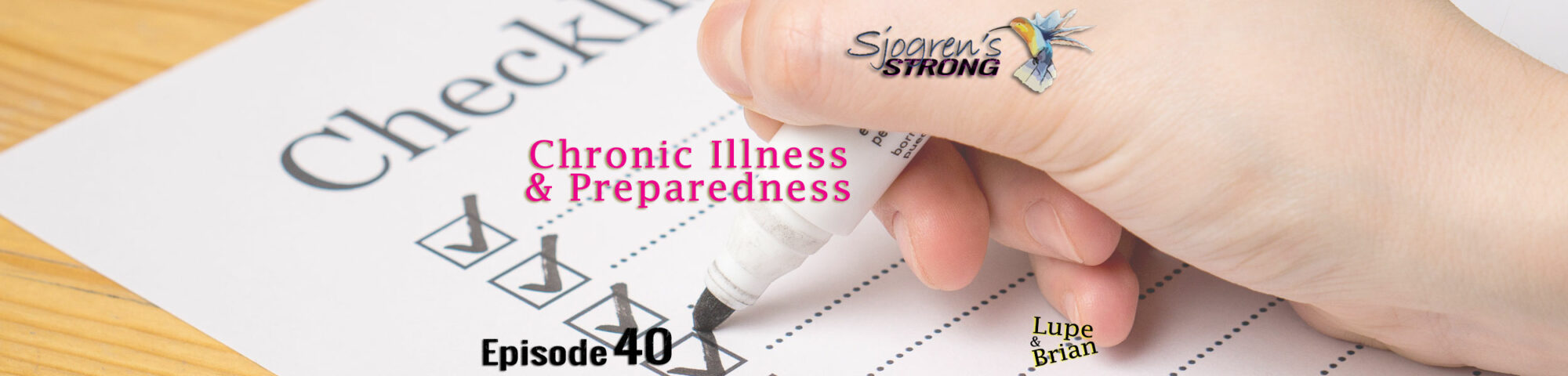 Chronic Illness and Preparedness