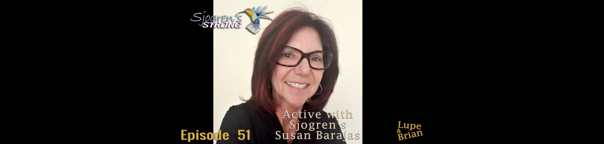 Active with Sjogren's Susan Barajas
