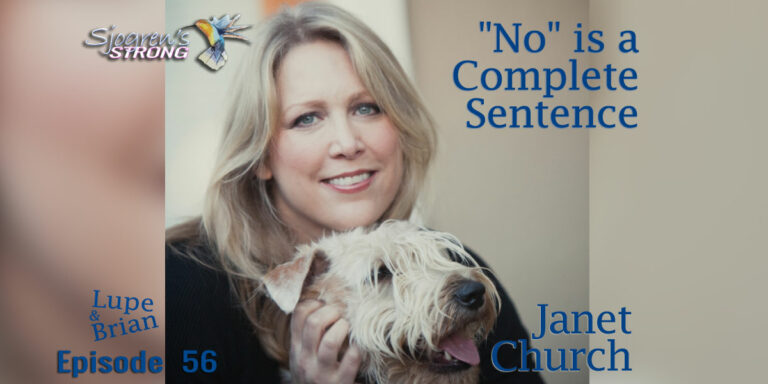 """Janet Church, """"No"""" is a Complete Sentence"""
