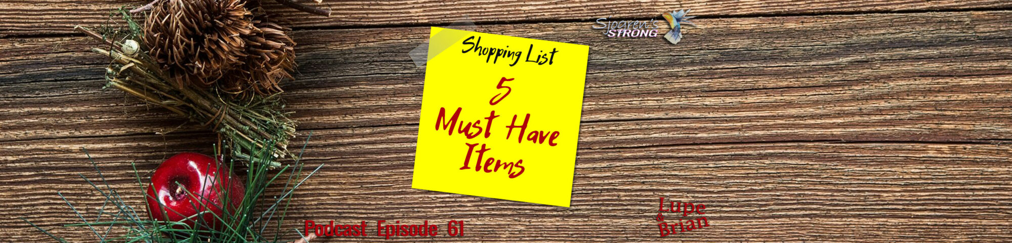 5 Must Have Items if you have Sjogren's Syndrome