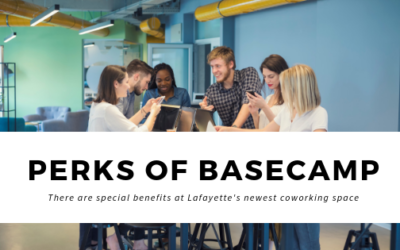 Hey Lafayette! Coworking at Basecamp has some Special Benefits