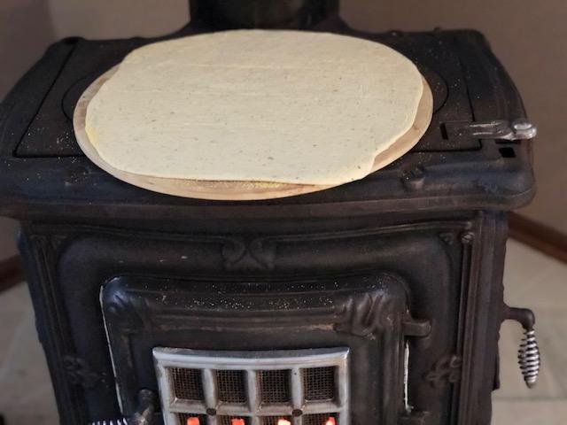 Thin Crust Pizza Stone Wood Burning Stove