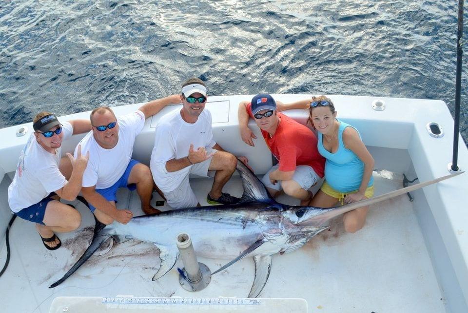 226 Swordfish while pregnant