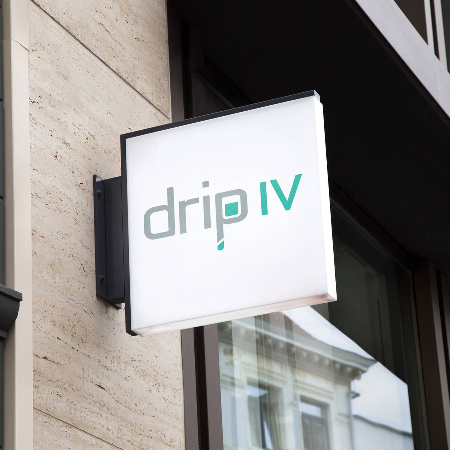 Drip IV Therapy Signage