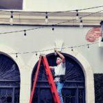 String Lights, Party Lights Install in Dallas, Tx