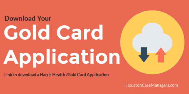 graphic relating to Printable Gold Card Application Harris County named Obtain Your Gold Card Computer software Houston Gold Card