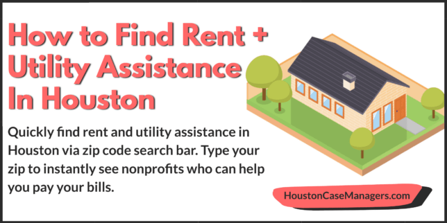 rent and utility assistance in houston