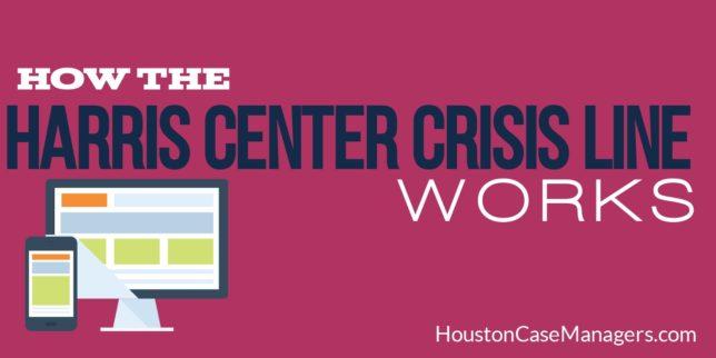 Harris Center Crisis Line