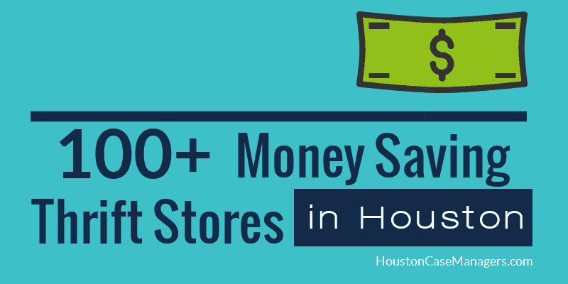 thrift stores in houston