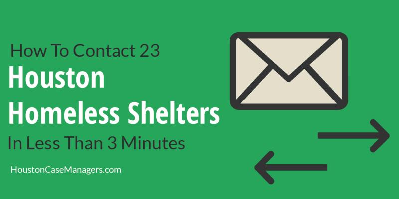 Houston Homeless Shelters