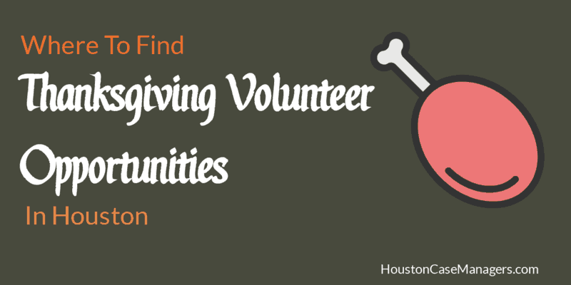 Thanksgiving Volunteer Opportunities In Houston